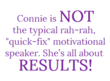 Michigan Dental Association Invites Motivational Speaker Connie...