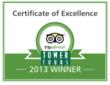 Tower Tours San Francisco Earns 2013 TripAdvisor® Certificate of...
