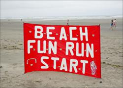 Beach to Chowder, 5K run, walk, 10K run, Long Beach, Peninsula, Washington, WA, outdoor events, running events, races, beach races, Key Bank, coast