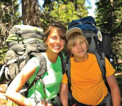 Wilderness Ventures participant and counselor.