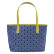 Jonathan Adler Navy Scales Duchess Tote