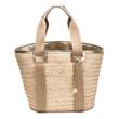Trina Turk Abby Woven Palm Tote