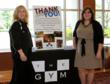 Left to right: Julann Kennish, General Manager, THE GYM of Montvale and Kristina Maglietta, Director of External Events, Make-A-Wish® New Jersey.