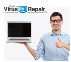 OnlineVirusRepair.com Press Release Graphic