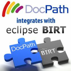 DocPath integrates with eclipse BIRT