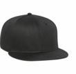 Black Snap Back Hat