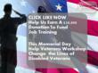 Veterans Workshop Announces 2013 Memorial Day Facebook Challenge