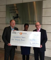 Business Cash Advance delighted to donate £1,000 to Alzheimer's