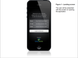 Compact Interview's video interviewing mobile app for iPhone