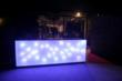 Sparkling Hill Wellness Hotel Light-Up Bar made up of of Swarovski Crystals