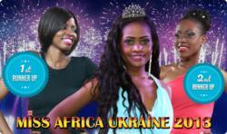 Miss Africa Ukraine 2013 Winners!