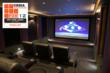 SoundSuede Fabric in a Cedia Award Winning Theater