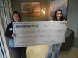 Electricity Maine Presents Check to Red Cross in Support of Lewiston...