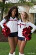 Houston Texans Cheerleaders kicked off the tournament!