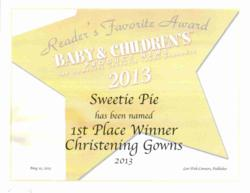 Christening Gowns Award