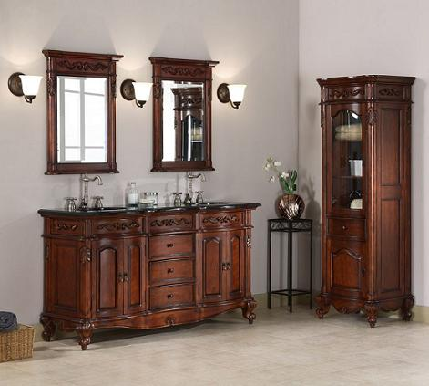 has introduced a guide to antique bathroom