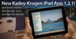 Kadey-Krogen Yachts iPad App Update Celebrates Trawler Yacht Lifestyle, Owners Global Travel Stories
