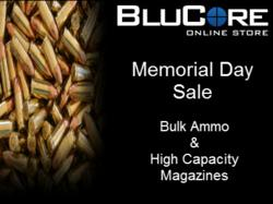 BluCore Memorial Day Sale on Bulk Ammo & High Capacity Magazines