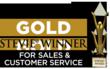 GOLD American Business Award Winner for Sales & Customer Service