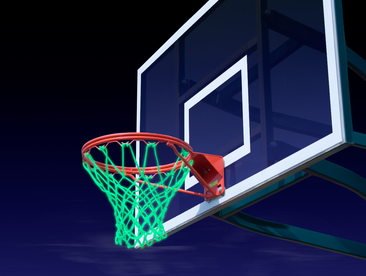 Lifetime 44 Portable Adjustable Height Basketball Hoop