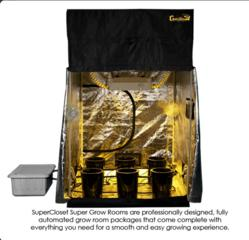 SuperCloset SuperRoom Grow Tent Packages
