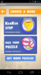 KenKen Android App Choose Mode