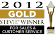 GOLD American Business Award Winner for Sales & Customer Service