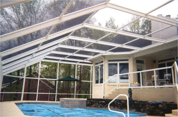 Swimming Pool Screening : Swimming pool screen enclosure demand boosts sales