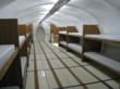Inside of CAT25 Military Style Shelter