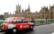 Air Express promote travel and tours website on London Taxis