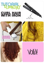 How To Curl Hair with Bio Ionic Flat Iron