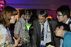 The Optics Outreach Olympics at SPIE Optics and Photonics allows SPIE Student Chapters to showcase their education outreach projects.