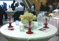 Serving Best Wine at Corporate Event with WineWeaver wine aerator