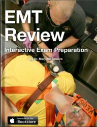 Cover for EMT Review: Interactive Exam Preparation by Dr. Marjorie Bowers