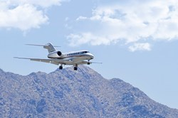 Citation X air ambulance