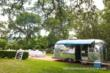 Airstream Lounge and Bar at outdoor party in Austin Texas