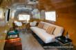 Interior view of the Airstream Lounge™