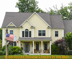 Independent Foreclosure Review checks cashed or deposited