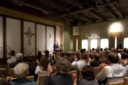 The Church of Scientology Portland held its inaugural graduation ceremony this week, in the Chapel of their new home at 309 SW 3rd Avenue in downtown Portland. Scientology Graduation is held to acknowledge those who have completed a Church course or level