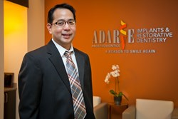 Dr. Ranier M. Adarve, DMD, MS, MHPE, Prosthodontist, is a highly trained and experienced dental specialist with impeccable educational background. Great institutions all over the world molded his training and experiences.  He earned his double masters deg