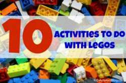 play and learn with LEGOs