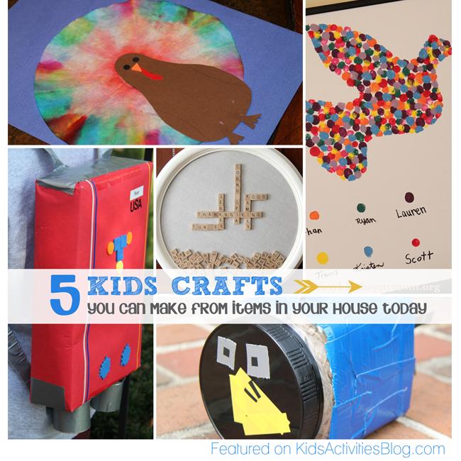 Fun Kids Crafts Have Been Released on Kids Activities Blog