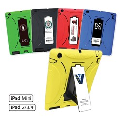 Customizable Rugged iPad Case