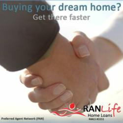 Preferred Agent Network, PAN, RANLife, buying a home