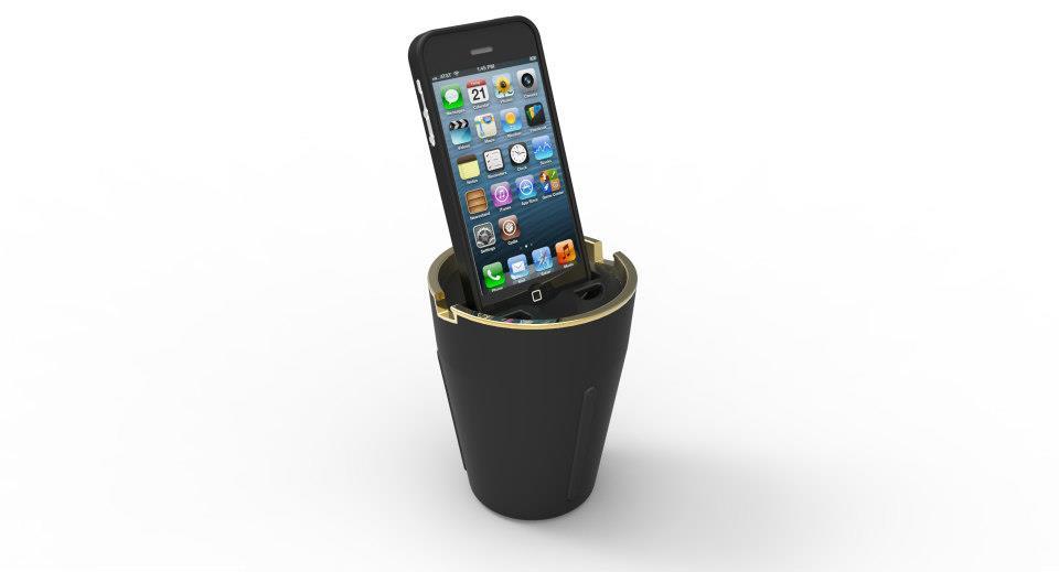 Iphone Car Dock: Insight Product Development Launches Kickstarter Campaign