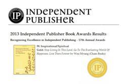 Cham Books Wins IPPY Gold