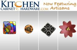 Kitchen-Cabinet-Hardware.com Now Featuring Artisans