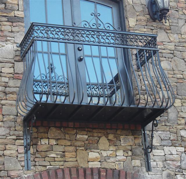 Decorative iron of nc launches a new and improved wrought for Balcony french