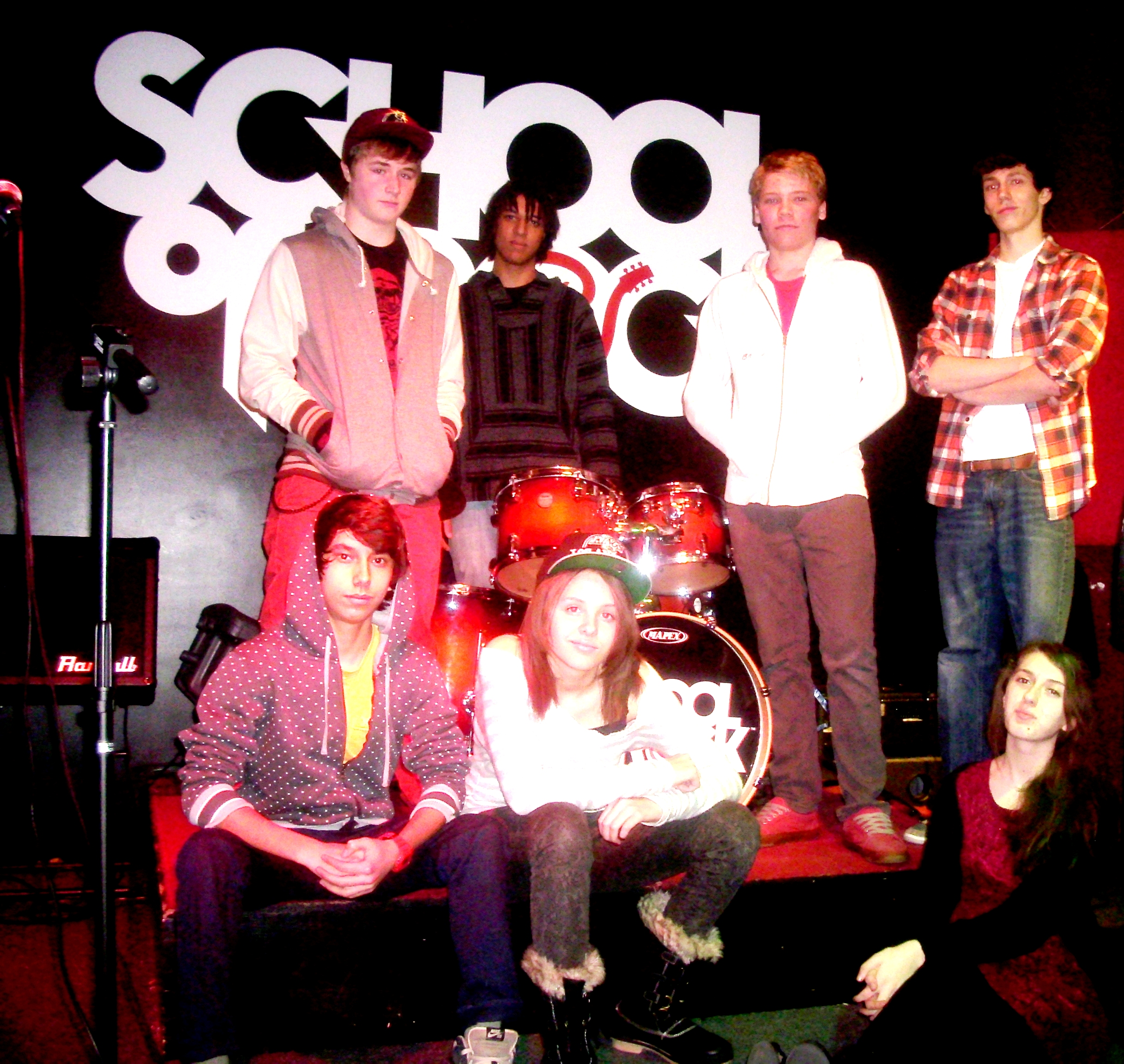 School of rock to sponsor teen band stage at grand old day for House music bands