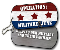 Operation Militay June Mission announced by Shofner Vision Center